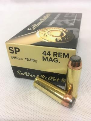 44 REM MAGNUM SP S&B