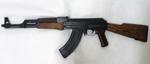 AKS 7,62 x 39 mm FREZOWANY Z KOLBĄ STAŁĄ