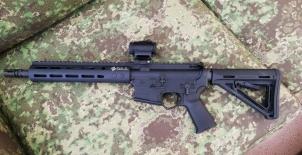 "Karabinek DS Arms 11,5"" .223 Rem + kolimator VORTEX"