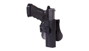 Kabura Release Button do Glock 17 z płetwą Helikon