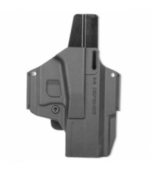 Kabura MORF - X3 - Glock 19 Czarna IMI Defense Z8019 // 3 Adaptery  Kabura MORF - X3 - Glock 19 Czarna IMI Defense