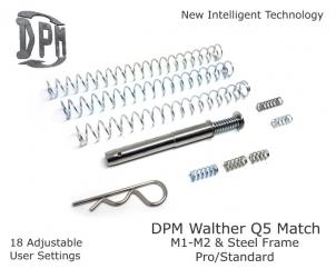 Mechaniczny system redukcji odrzutu Walther Q5 Match M1/M2 & Steel – Polymer Frame Pro/Standard