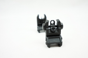 REAR/FRONT SIGHT FLIP-UP POLIMERY